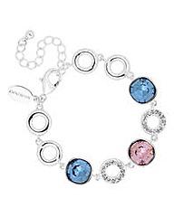 Jon Richard Crystal circle bracelet