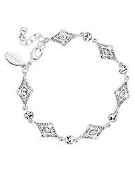 Jon Richard Art deco crystal bracelet