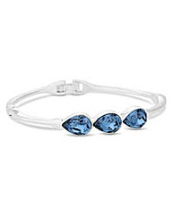 Jon Richard Crystal teardrop bangle