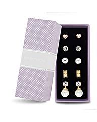 Jon Richard set of five earring pack