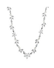 Jon Richard Pearl flower necklace