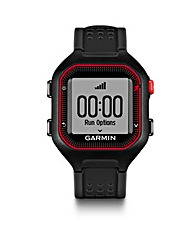 Garmin Forerunner 25 L Black/red