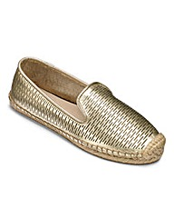 Lotus Leather Espadrilles D Fit