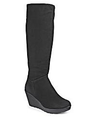 Heavenly Soles Bologna Wedge Knee Boots