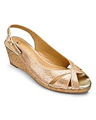 Van Dal Middleton Wedge Shoes D Fit