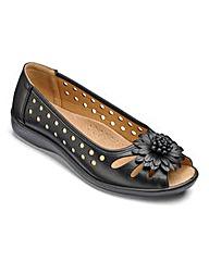 Cushion Walk Peep Toe Shoes EEE Fit