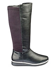 Heavenly Soles Knee High Boots EEE Fit
