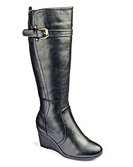 Cushion Walk Knee High Boots E Fit