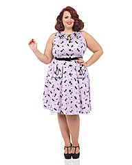VOODOO VIXEN RETRO KITTY DRESS