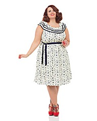VOODOO VIXEN SUMMER NAUTICAL DRESS