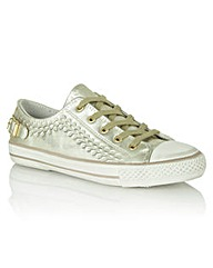 Ash Virgo Womens  Gold Trainer