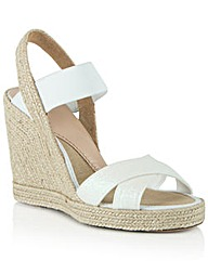 China Town Glitter Wedge Sandal