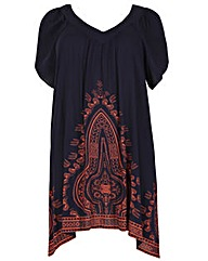Samya Eastern Print Dress