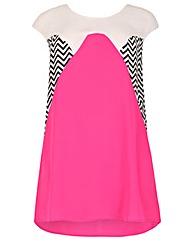 Samya Zig Zag Panel Dress
