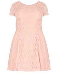 Samya Lace Finish Dress