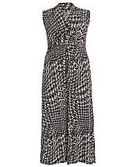 Samya Geo Print Maxi Dress