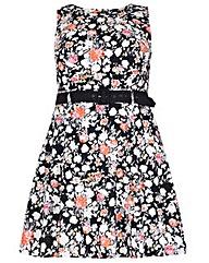 Samya Floral Print Dress
