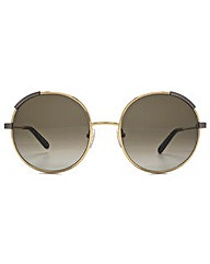Chloe Eria Metal Round Sunglasses