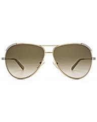 Chloe Eria Aviator Sunglasses