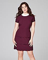 Scallop Skirt Dress