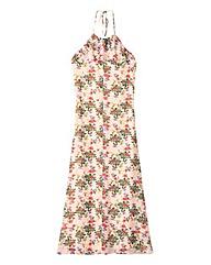 Frill Front Maxi Dress