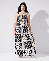 Shirred Maxi Dress - L52