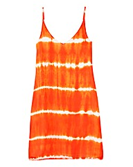 Tie Dye Print Cami Dress