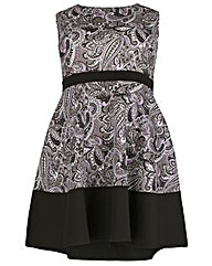 Praslin Swirl Print Dress
