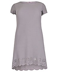 Praslin Lazer Hem Dress