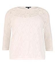 Samya Lace Long Sleeve Top