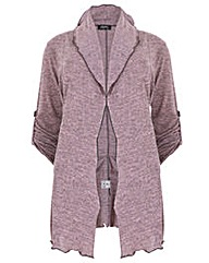 Feverfish Knitted Asymmetric Jacket