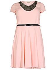 emily Motif Skater Dress