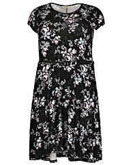 emily Belted Print Dress