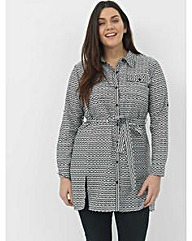 Koko Belted Shirt Dress