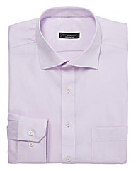 Eterna Mighty Lilac Cotton Shirt