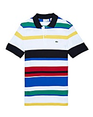 Lacoste Tall Multi Stripe Polo Shirt