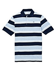 Lacoste Tall Block Stripe Polo Shirt