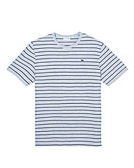 Lacoste Tall Block Stripe T Shirt