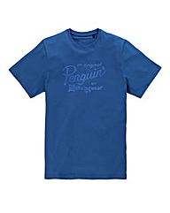 Original Penguin Script T-Shirt Regular