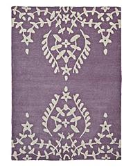 Lace Edge Wool Rug