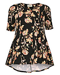 Sienna Couture Floral Swing Top