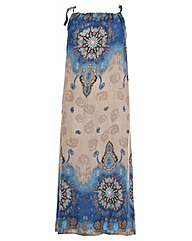 Samya Flared Maxi Dress