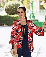 Together Print Kimono