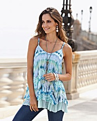 Together Sleeveless Print Top