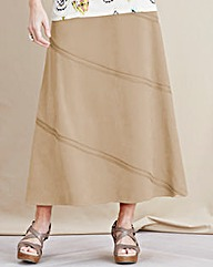 JOANNA HOPE Mock-Suede Maxi Skirt
