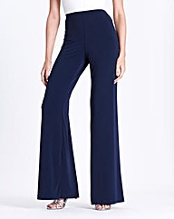 JOANNA HOPE Jersey Palazzo Trousers 29in