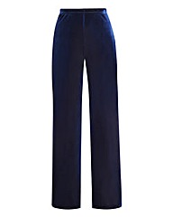Petite Velour Trouser Length 25in