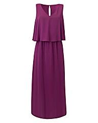 Joanna Hope Layered Maxi Dress