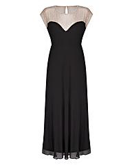 JOANNA HOPE Bead-Trim Maxi Dress