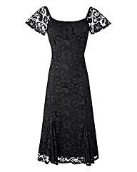 Joanna Hope Lace Bardot Dress